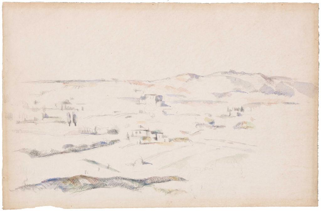Пол Сезанн, Paysage en Provence. Світлина: Ельмер де Гаас.