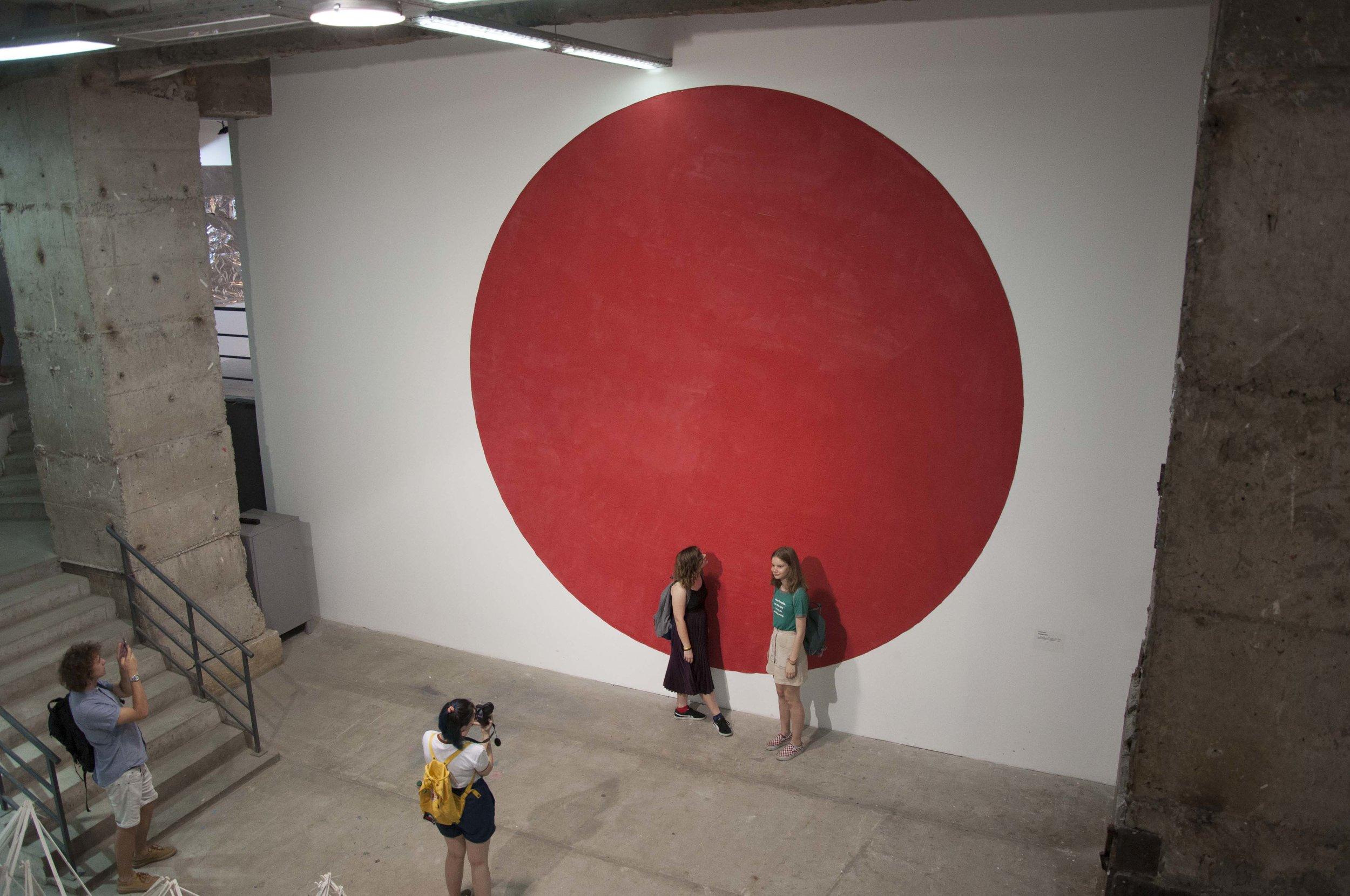 Антон Саєнко «Спільне коло», виставка «Більший простір». Світлина: Ярослав Майстренко