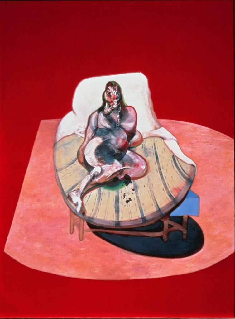 Френсіс Бекон, Навчання для портрета Генрієти Мораес, 1964