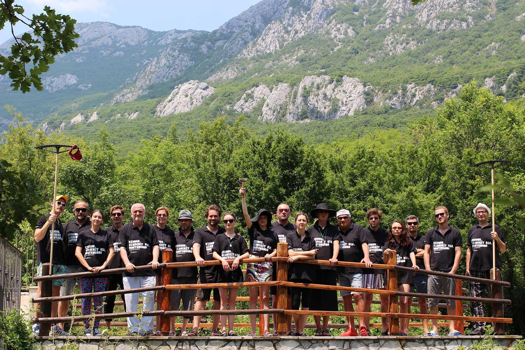 Учасники проекту Exodus. Biruchiy 019. Montenegro