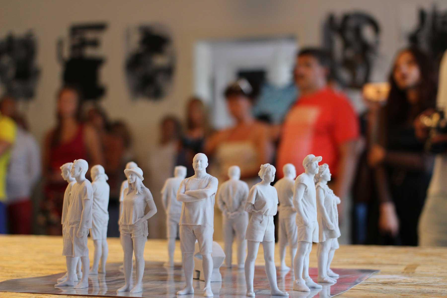 Павла Нікітіна (PavlaNikitina) та Йіржи Пец (Jiří Pec), «Було», скульптурний 3D репортаж, 40 х 40 х 15 см., 2019