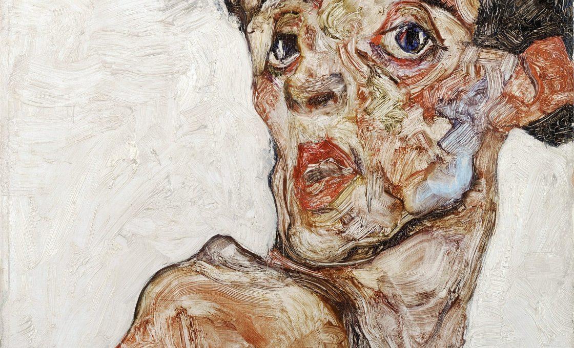 Автопортрет з голим піднесеним плечем. Світлина: arttube.ru
