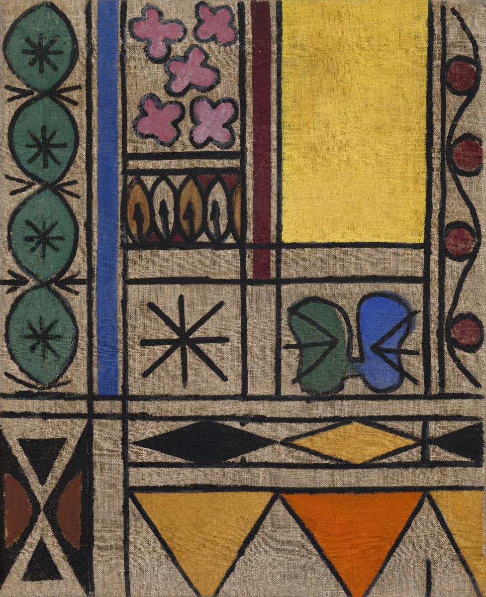 Анатолій Сумар. Жовте вікно. Початок 1960-х. Приватне зібрання, Київ