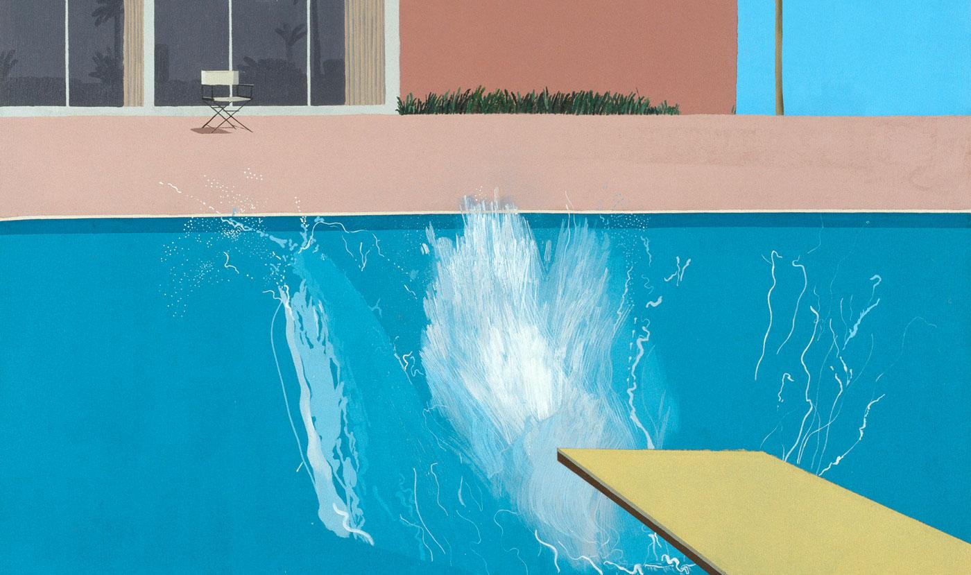 Девід Хокні A Bigger Splash, 1967. Світлина: artandobject