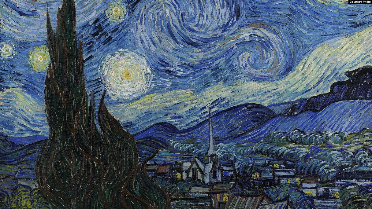 The Starry Night, Вінсент ван Гог, 1889