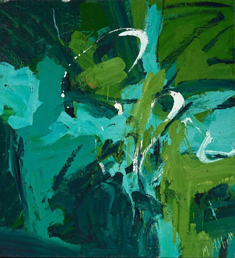 All green, 1954