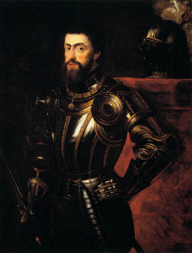 Рубенс, імператор Священної Римської імперії Карл V, 1600–1605. Світлина: Guardian