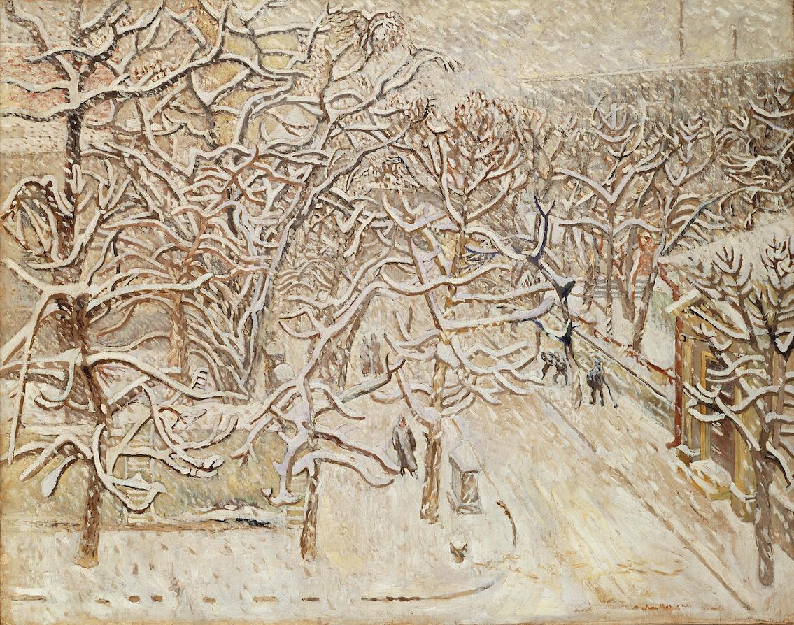 Вулиця Харкова зимою. 1934. Колекція NAMU
