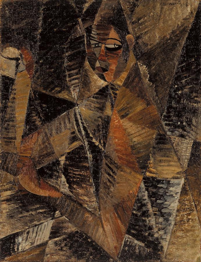 Жіночий портрет. 1922. Колекція NAMU