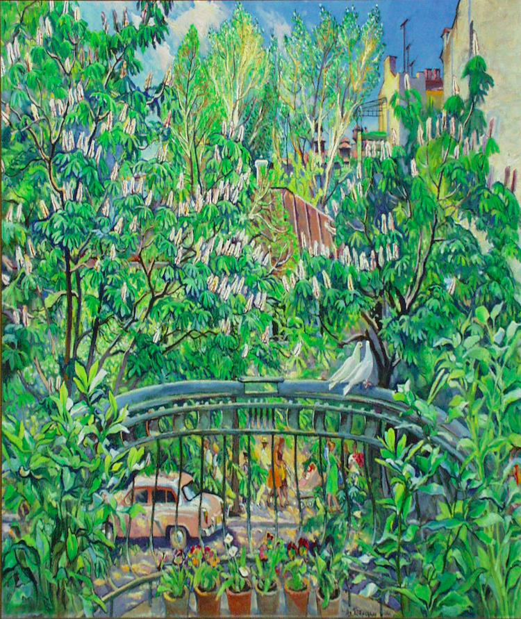 Не сад – вулиця Києва. 1961. Колекція NAMU