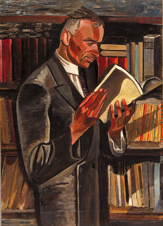 Портрет Гордія Коцюби. 1925-1931. Колекція NAMU
