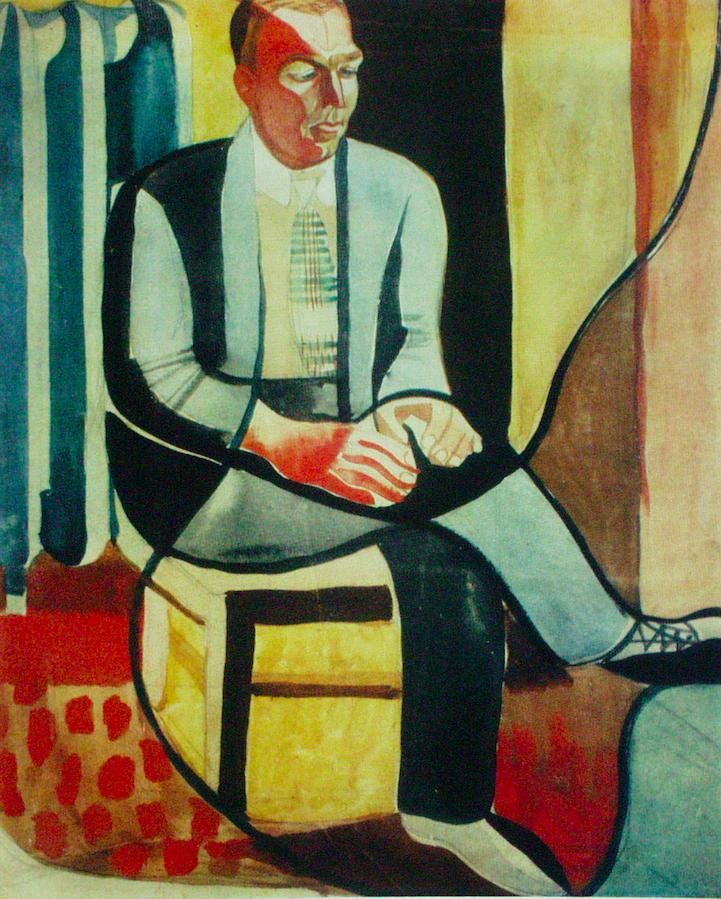 Портрет Івана Сенченка. 1929. Колекція NAMU