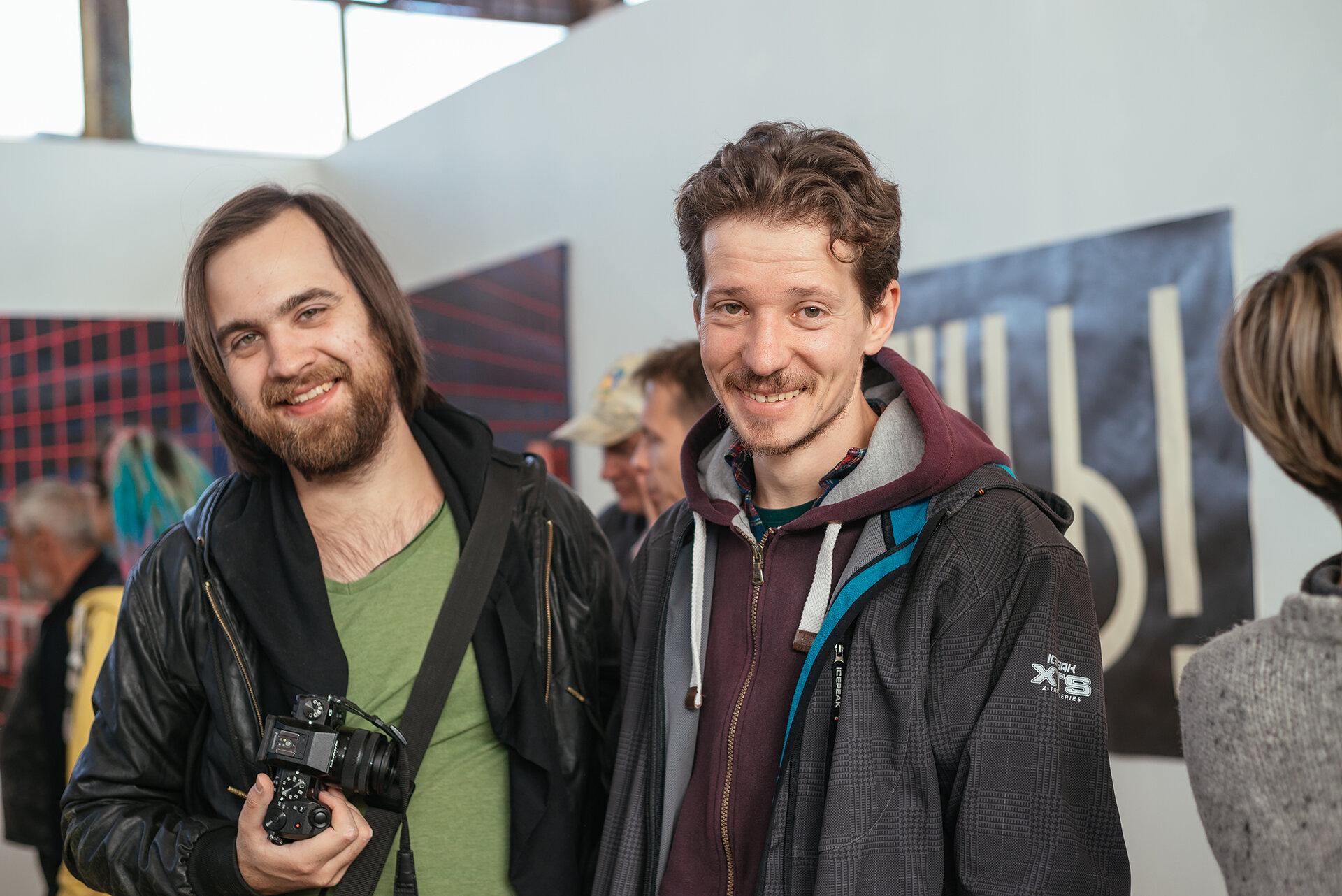 Юрій Пікуль (праворуч)