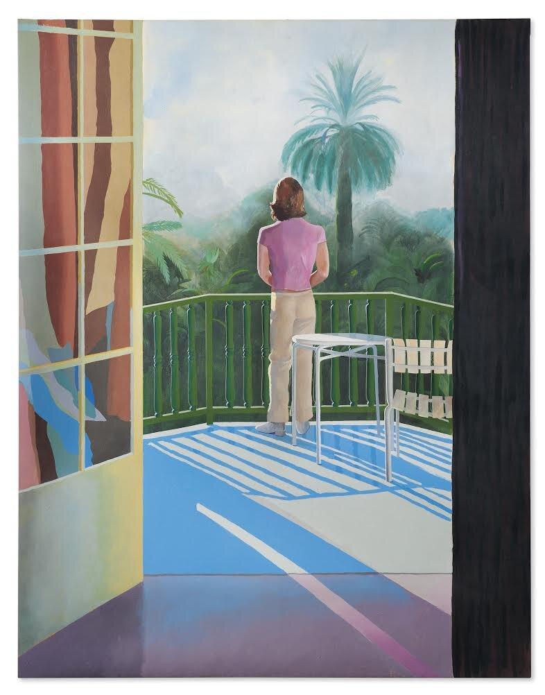 Девід Хокні, Sur la Terrasse, 1971. Світлина: Christie's