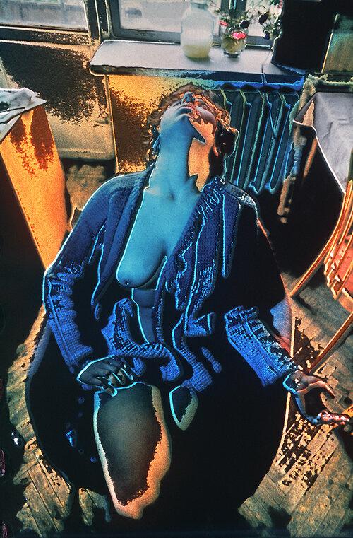 Олег Малеваный. Ожидание. 1971. Техника цветной изогелии. Предоставлено Grynyov Art Foundation