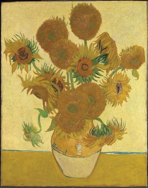 Ван Гог «Соняхи», 1888. Світлина: The National Gallery, London