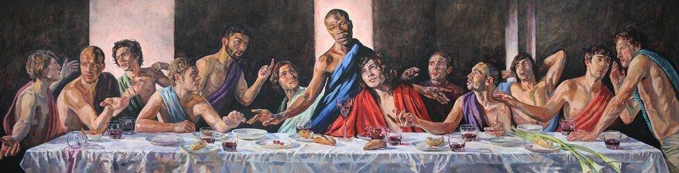 The Last Supper, Лорна Мей Водсвор © bbc