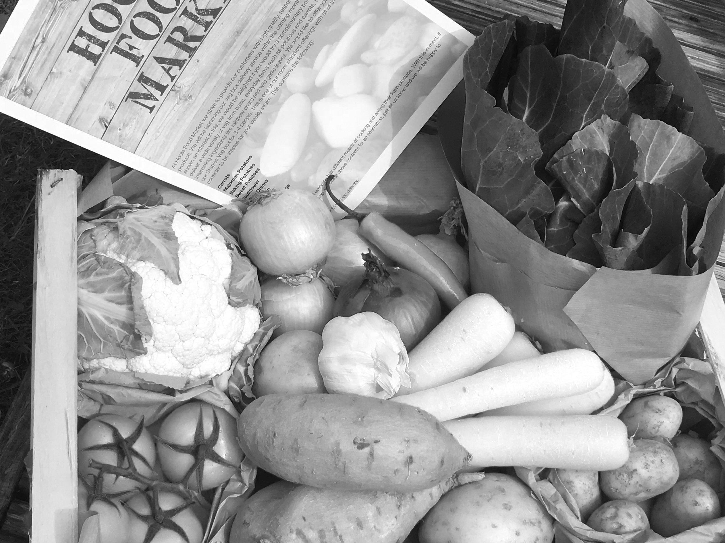 Veg Boxes - at Hoole Food Market
