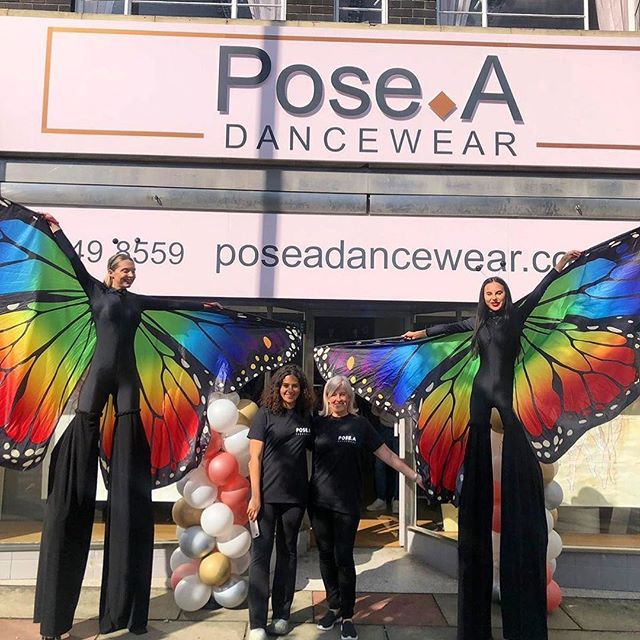 Posted @withrepost • @pose.adancewear ✨✨Just wanted to say a big THANK YOU to everyone who made it down to our launch day and helped to make the day extra special... a MASSIVE thank you to all of  our wonderful suppliers, we couldn't have done this without you and for our wonderful butterflies from @utopia_ents ❤️ We will be drawing the £100 voucher winner tomorrow so keep your eyes peeled! Hope you all enjoyed the day as much as we did! 💖🙌🎉 ✨✨