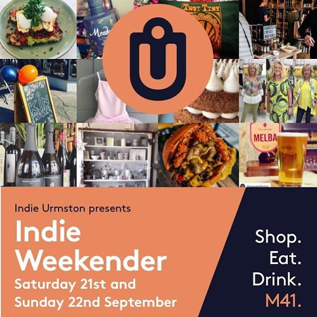 Let's hope we have weather like this for next weekend's INDIE WEEKENDER! #indieurmston #m41 #shoplocal #eatlocal #drinklocal #manchester