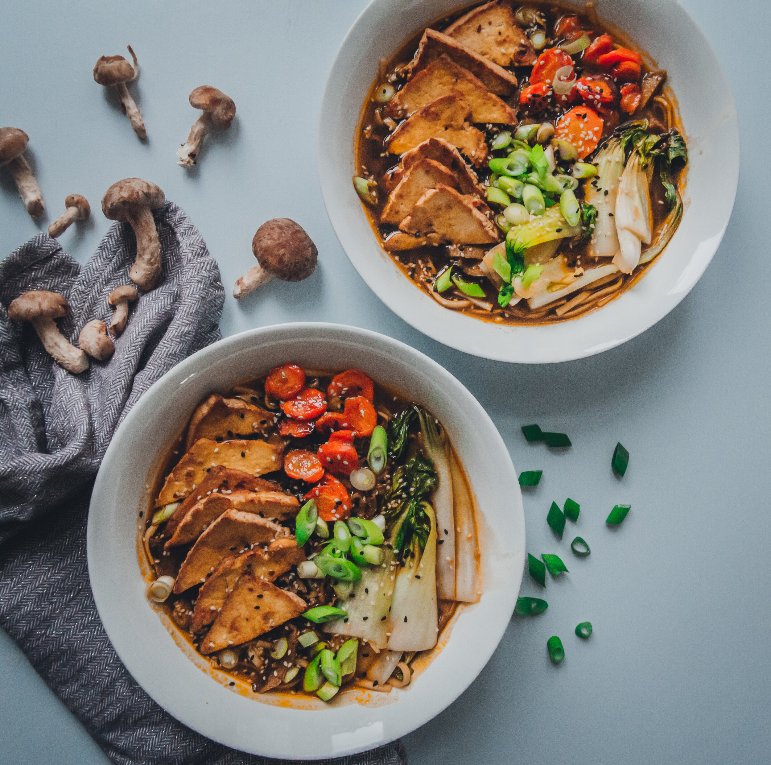 Vegan Ramen With Smoked Tofu Hello Gemma