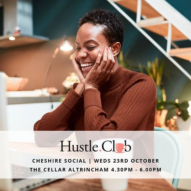 It's that time again Cheshire! 😍 • At Hustle Club we welcome anyone with ambition who feels like entrepreneurship is a lonely game. From those with a side hustle to directors, coaches, consultants, personal trainers, creatives, photographers, vloggers, bloggers, stylists, yogi's, freelancers, designers, influencers or those who work from home - our doors are open! • Check out my stories and swipe up to grab your spot for Wednesday 23rd October. You can also see our recent testimonials on our brand new website www.hustleclub.co.uk • See you there! 🎉☺️