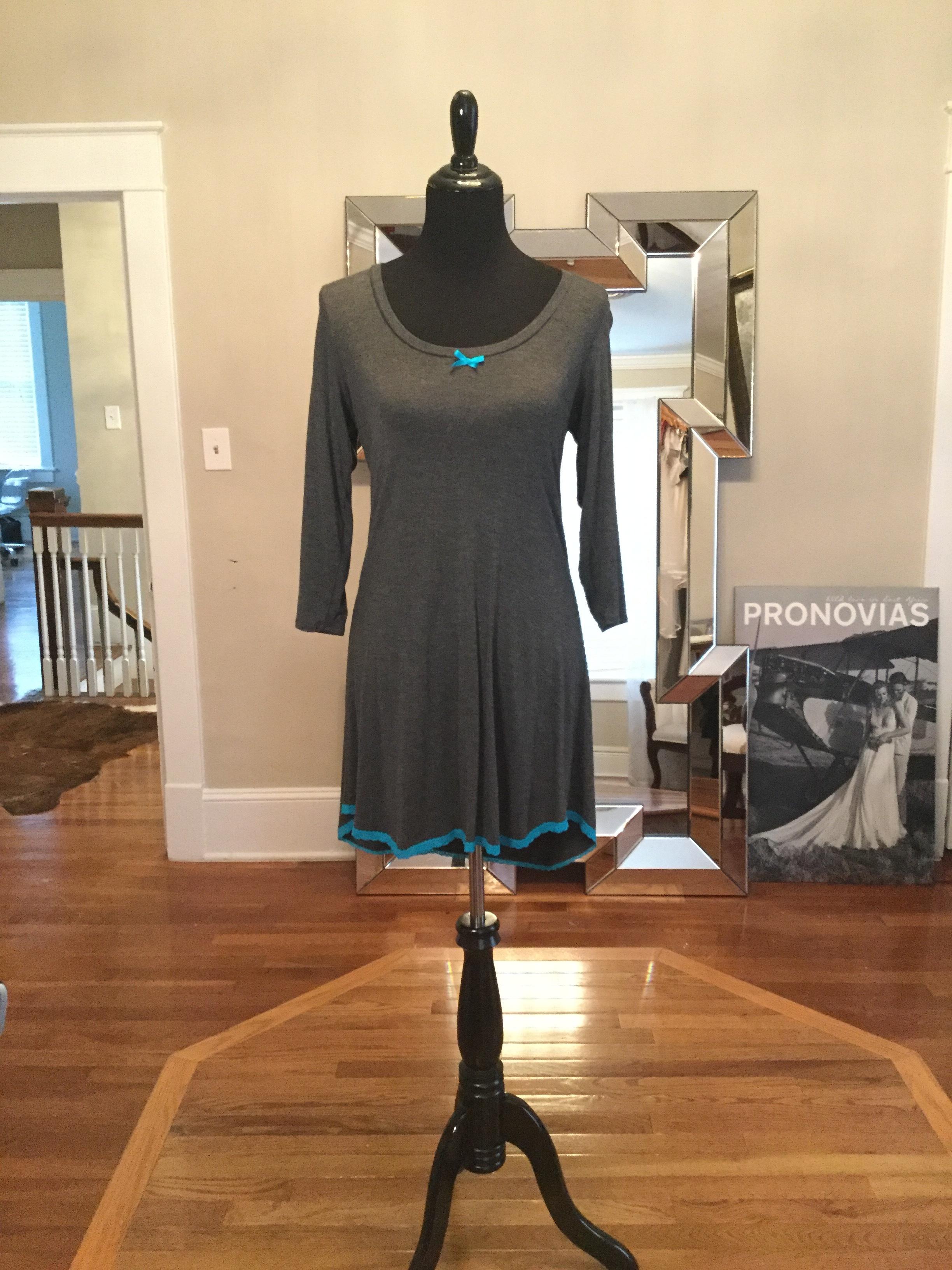 Grey and blue long sleeve dress_$60.JPG