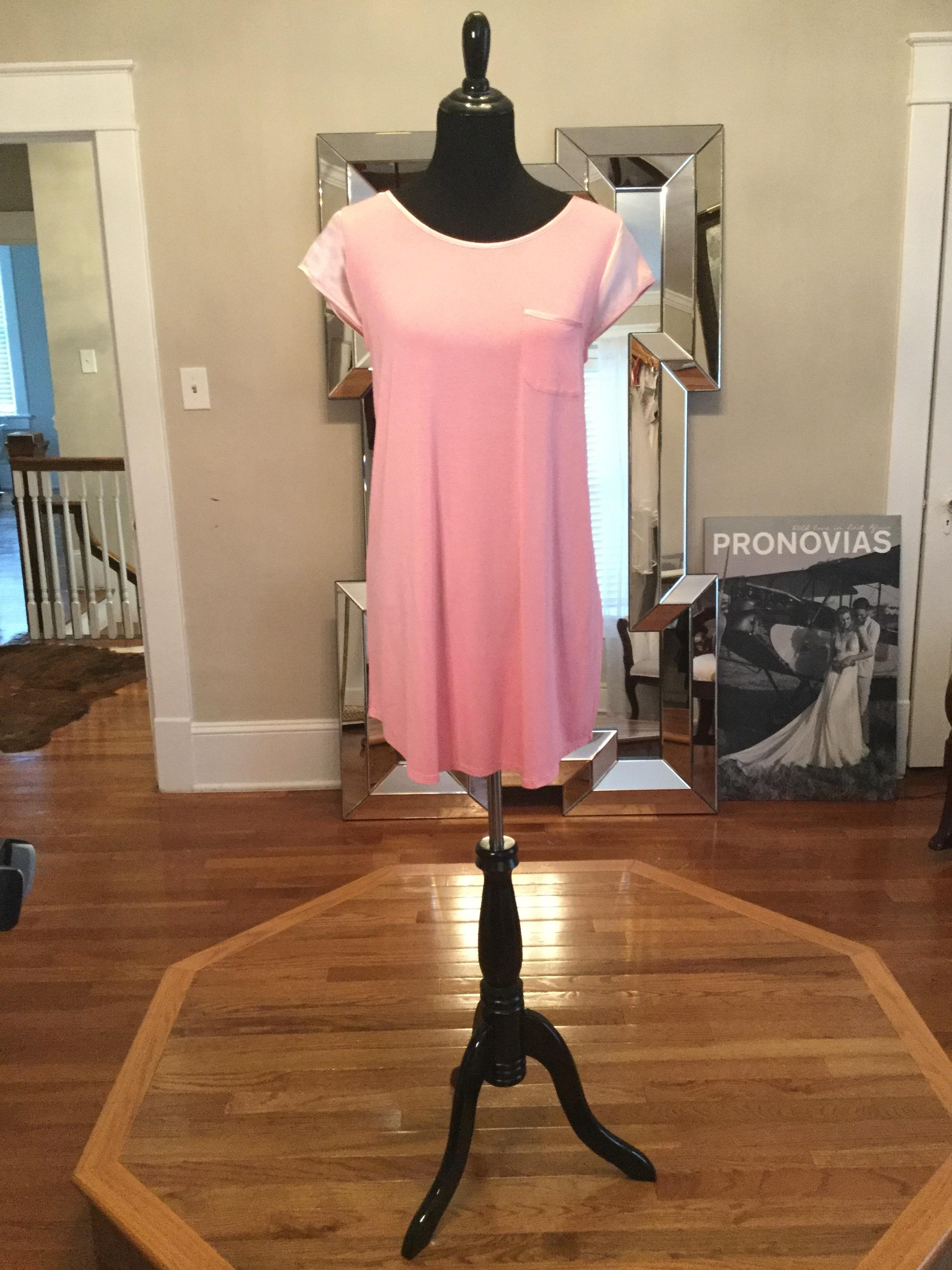 Pink T-shirt dress_$91.JPG