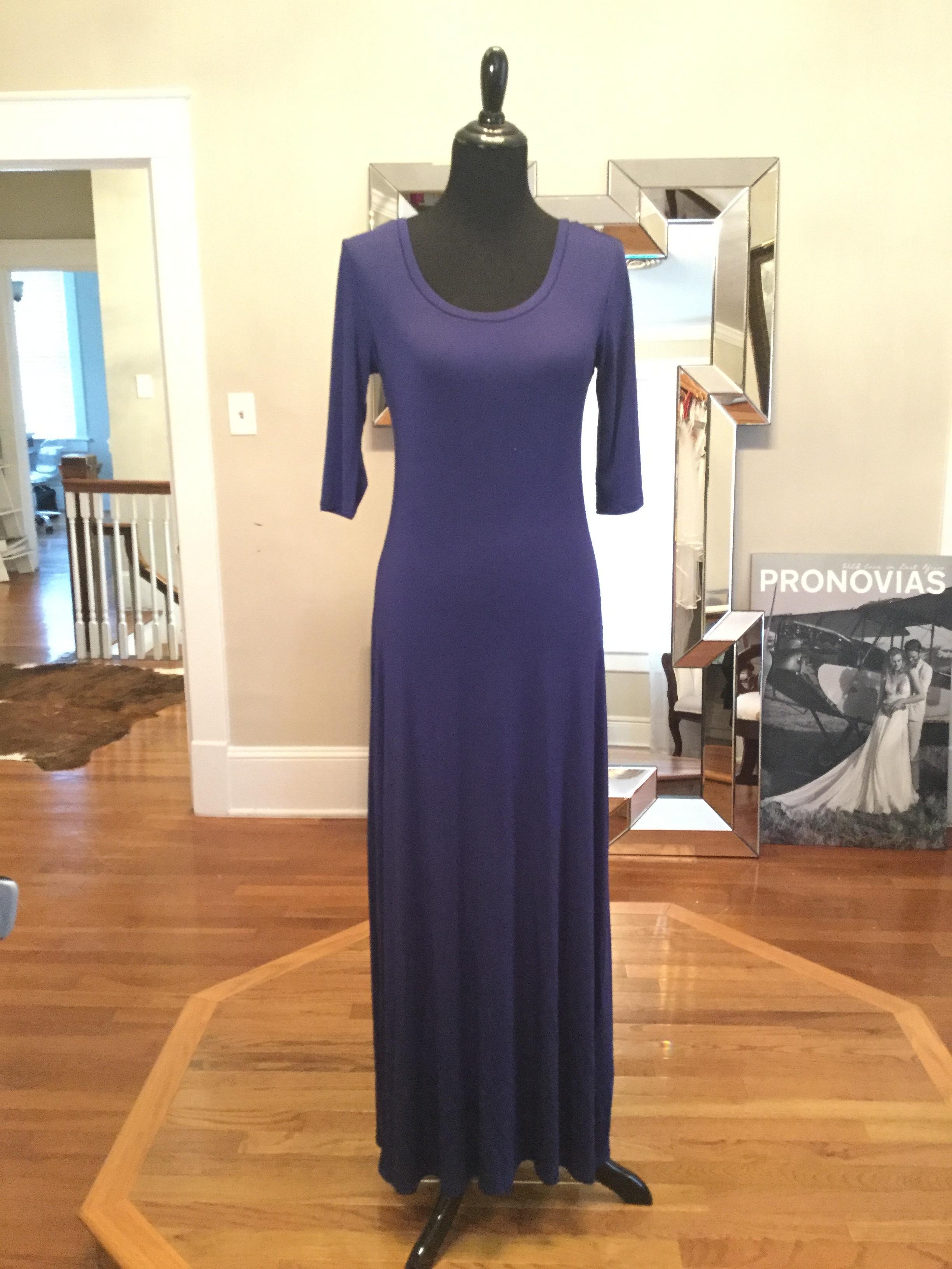 Purple, quartersleeve, long slip-$134.JPG