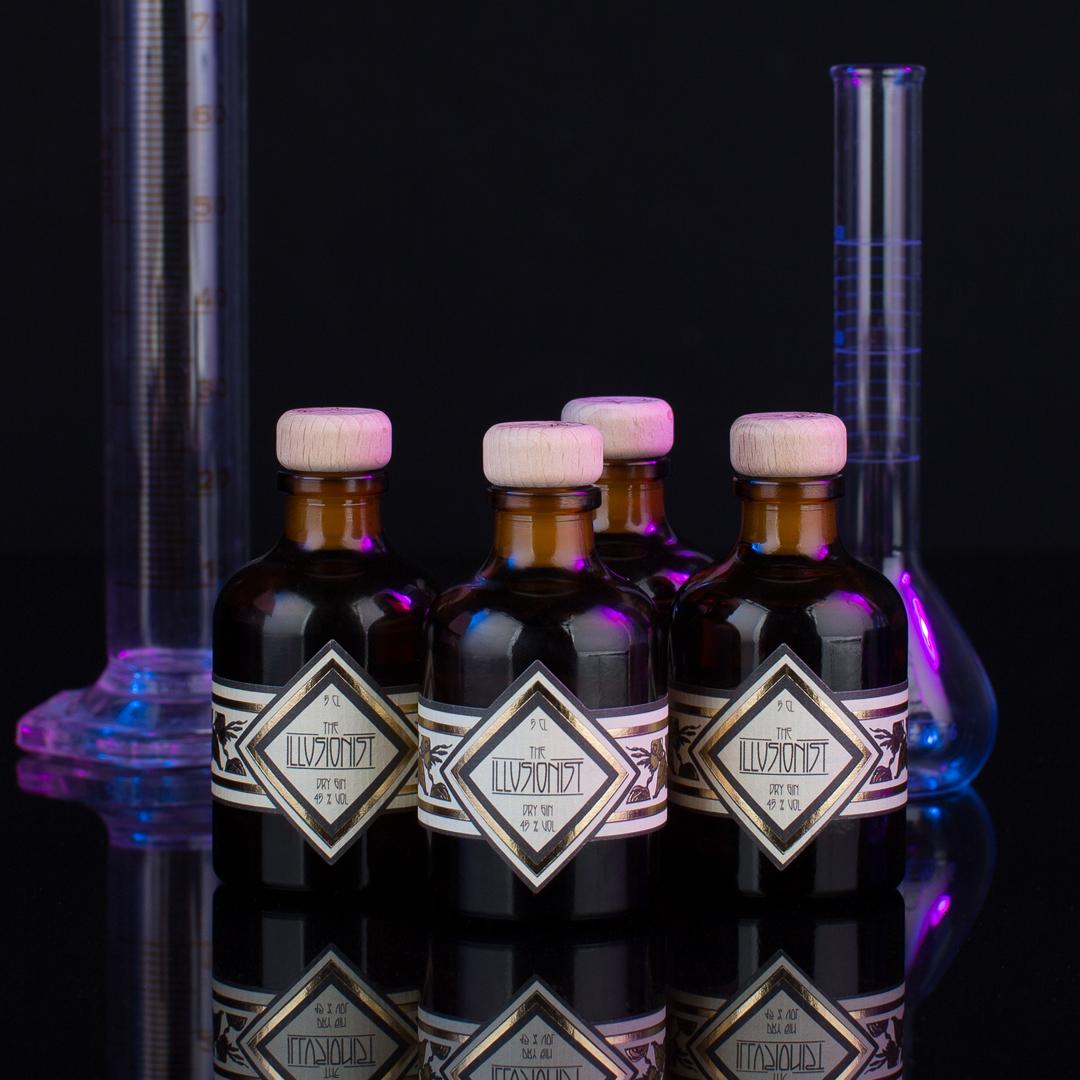Illusionist Dry Gin Mini - 50ml Illusionist Dry Gin x 4