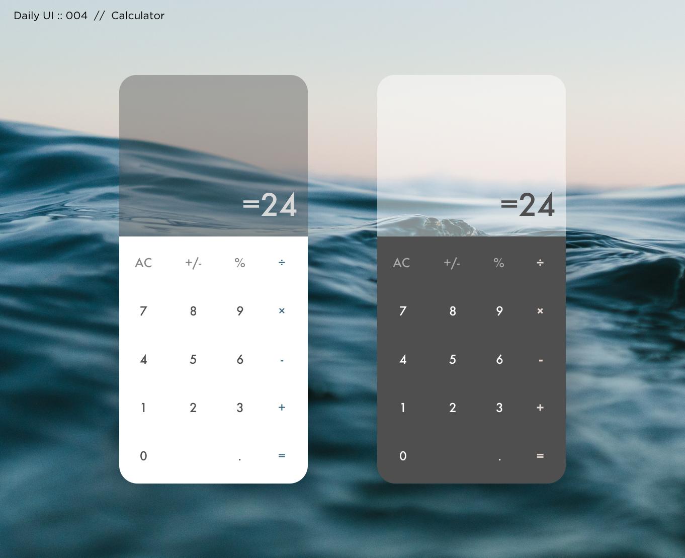 004: Calculator -