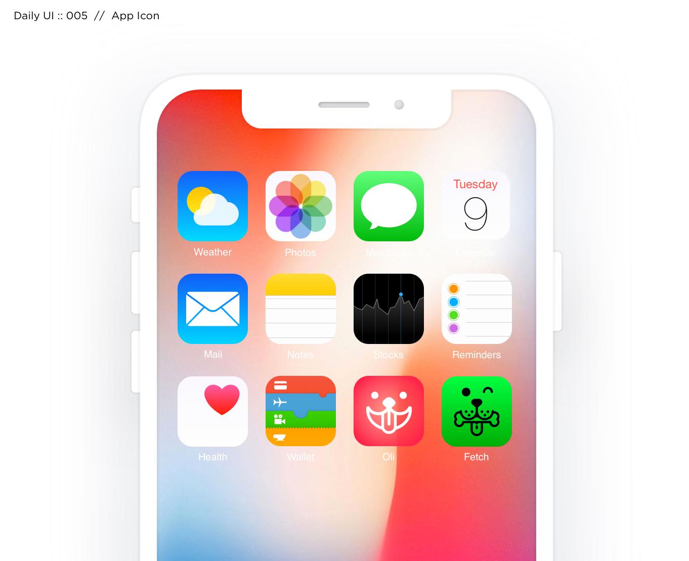 005: App Icon -