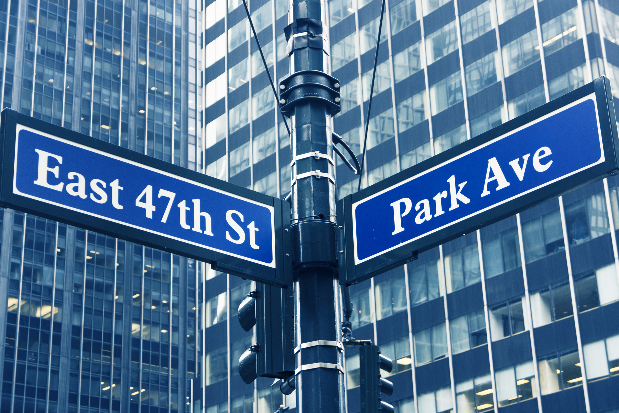 We are located on Park Avenue between 46th and 47th Street