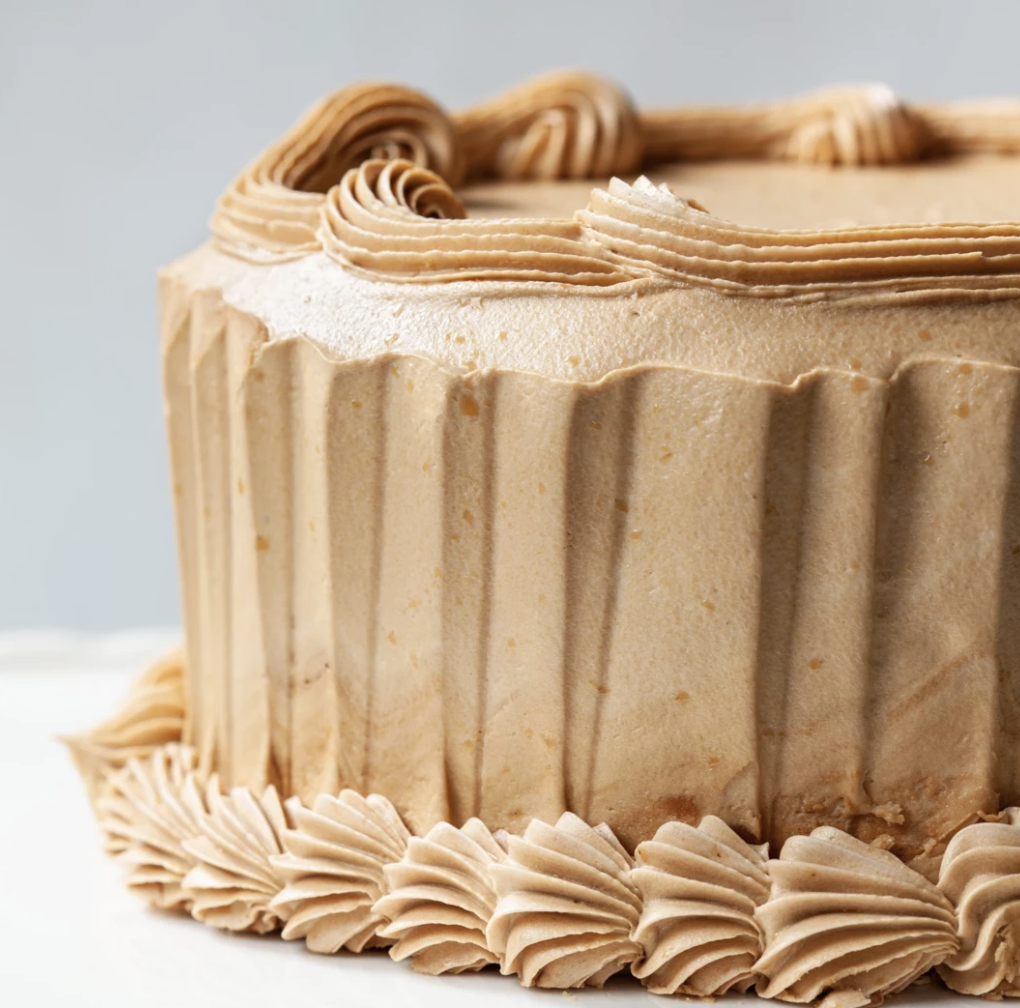 Mocha Buttercream Cake