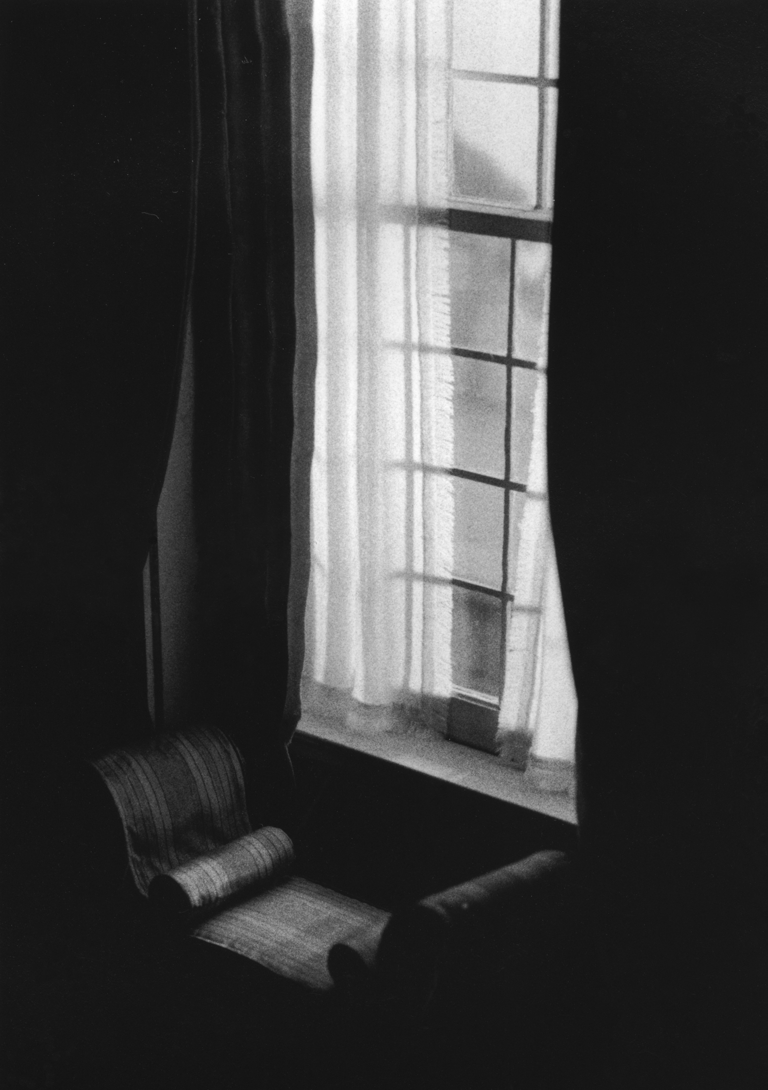 Chaise by Window