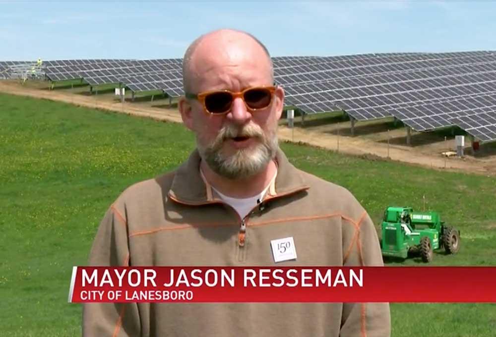 Lanesboro Solar Field