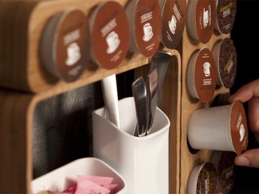Quirky  Aroma K-Cup Storage