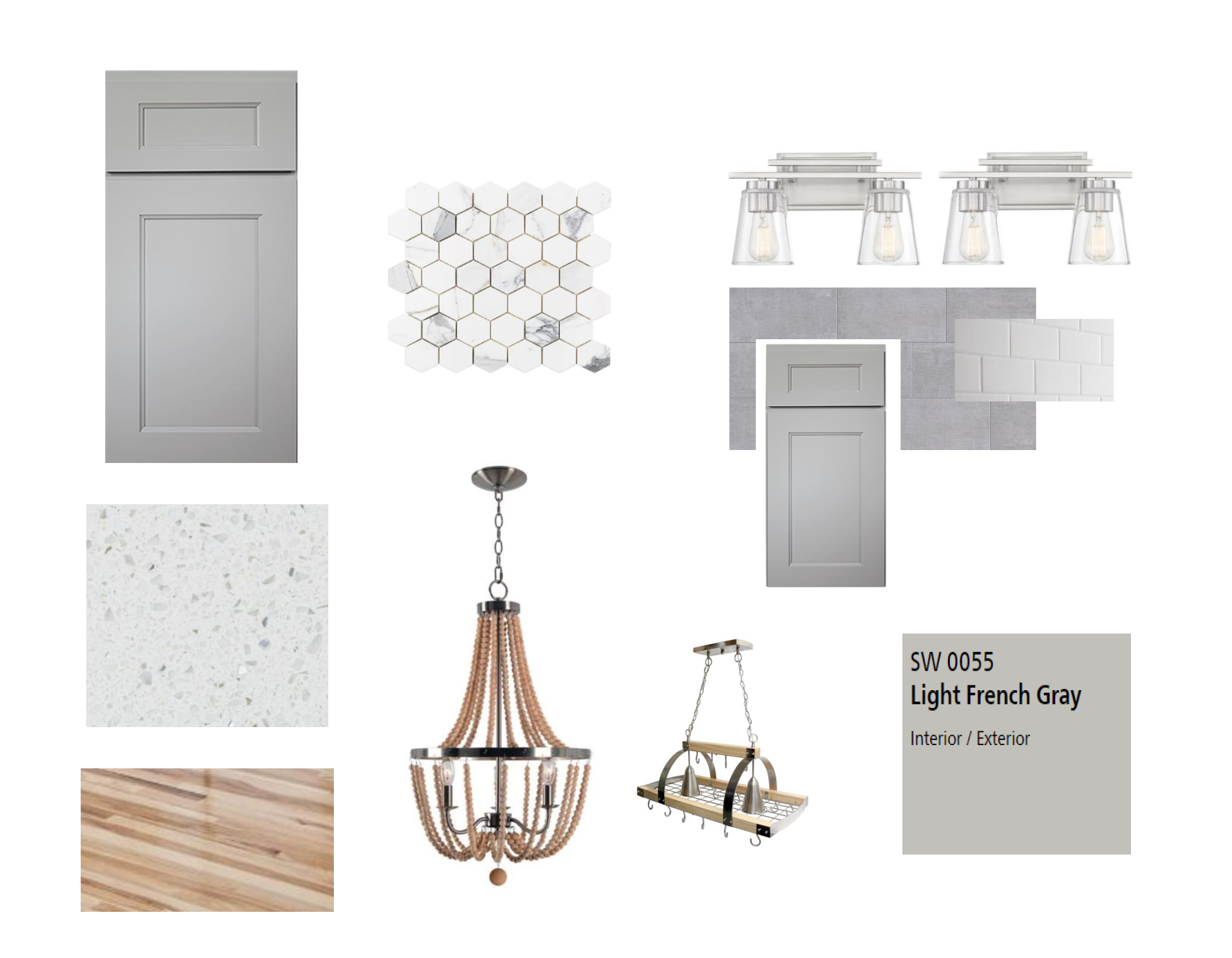 Clean. Modern. Finishes. - From quartz counter tops to hickory hardwoods, the difference is in the details.