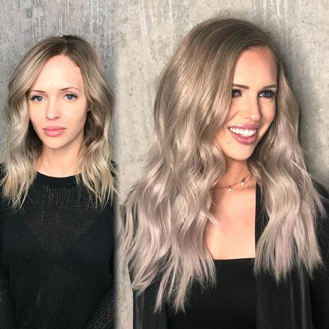 Mother of Pearl Collab on our fav MUA @makeupbywhit  Color by @caitlyn.nelson Tape-in @greatlengthsusa extensions by @andrespenahair & @lyndsaymaderis Makeup by @makeupbywhit  BEAUTY IS YOUR ULTIMATE ACCESSORY  @thairapypdx @behindthechair #thairapypdx #howiwearmygl #btconeshot19_collaboration #btconeshot19_extensions #behindthechair #lyndsaymaderishair #caitlynnelsonhair #andrespenahair #makeupbywhit