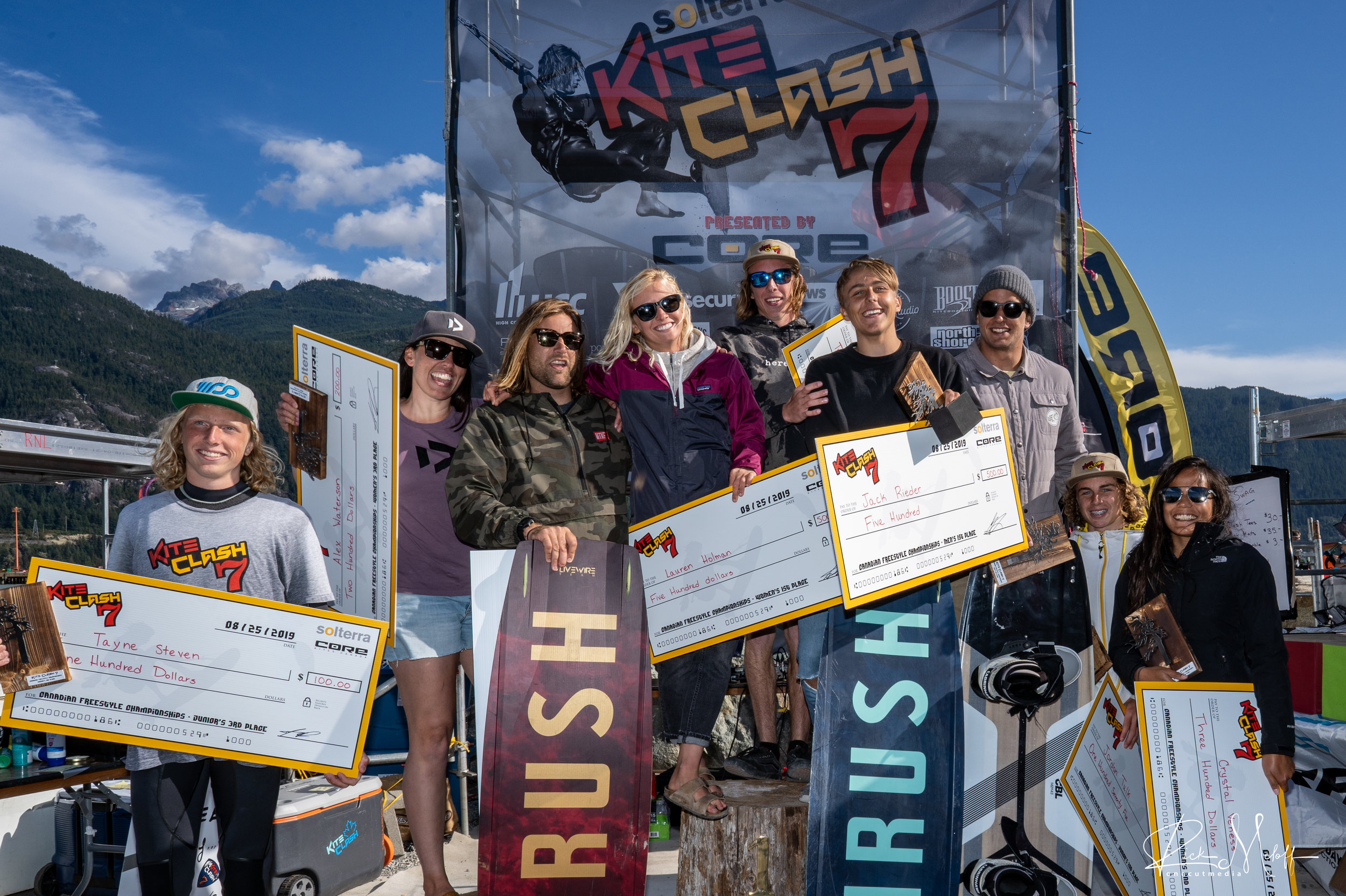 The 2019 Kite Clash 7 Canadian National Freestyle Champions
