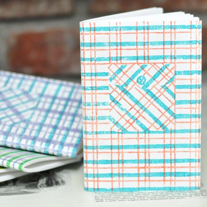 linocut plaid notebooks.jpg