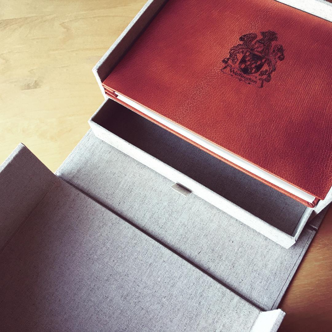 family crest album and keepsake box.jpg