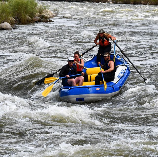 You can tell our river guides love their jobs. Book an adventure with us and let them share their passion with you! #yellowstonenationalpark #theflyingpig #adventureawaits