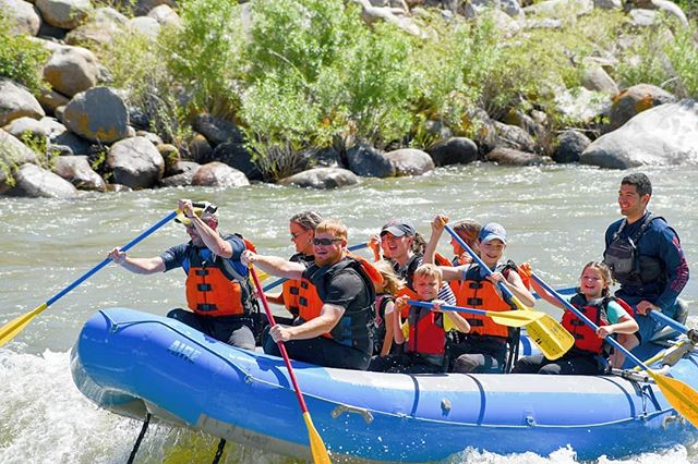 The Flying Pig can take the whole family on a Whitewater adventure! The Yellowstone River is a blast for all ages!  #yellowstonenationalpark #whitewaterrafting #adventure #findyourpark #visitgardinermt #yellowstone #montana