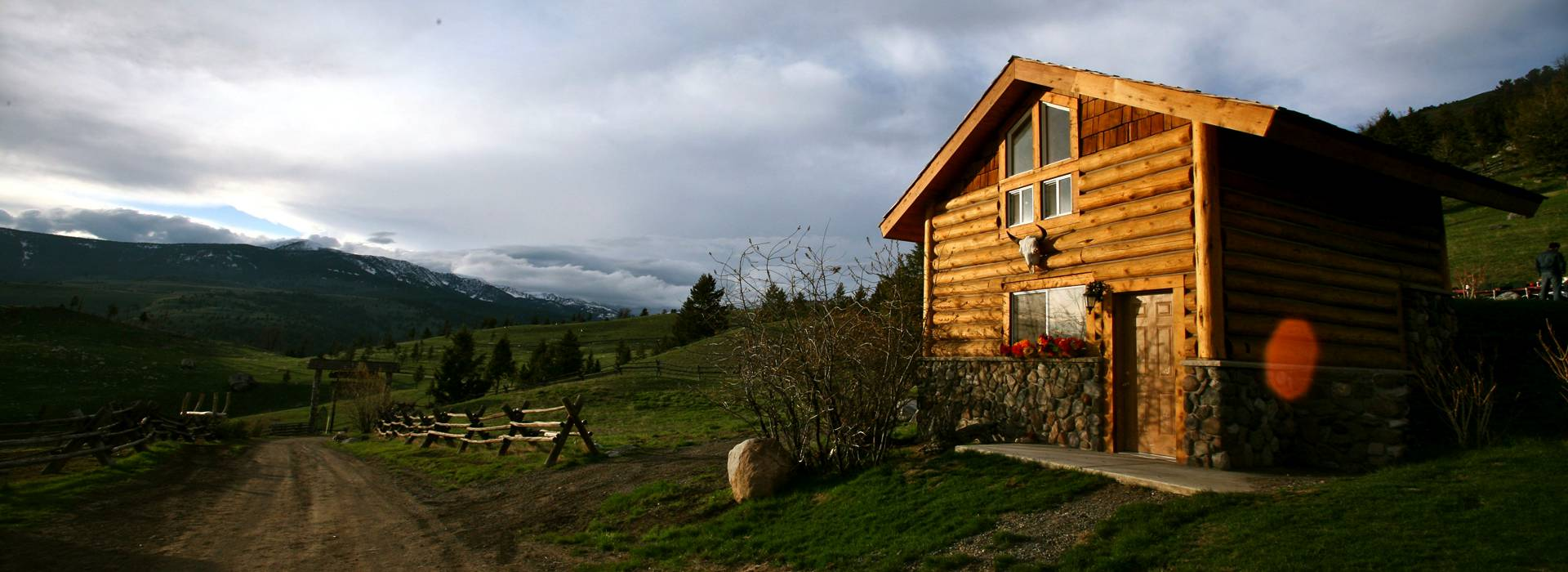 Small Cabin at the Ranch Yellowstone