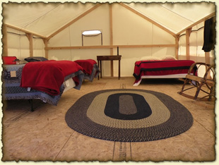 Wall Tents at the Ranch Yellowstone