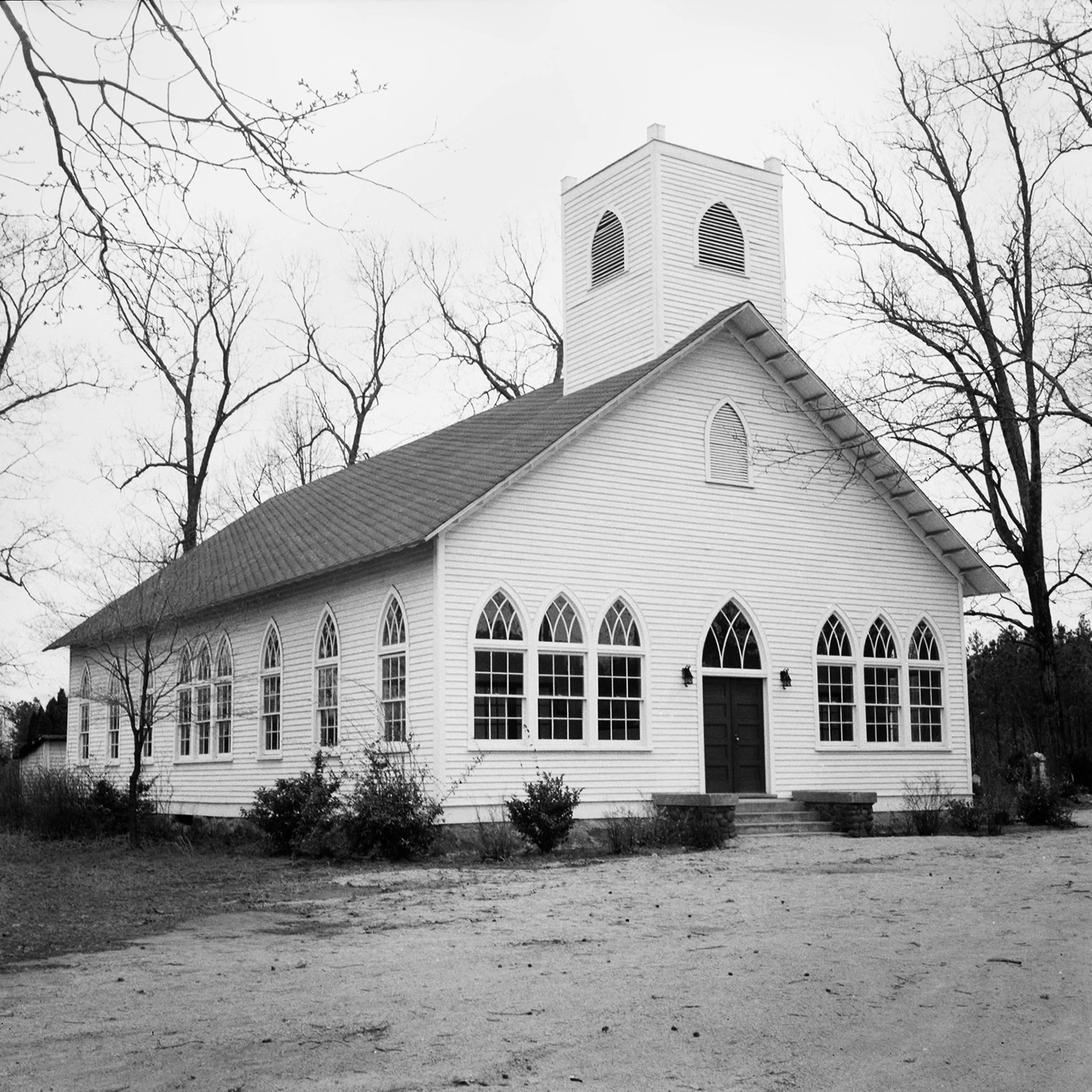 Orange UMC Sanctuary circa 1956