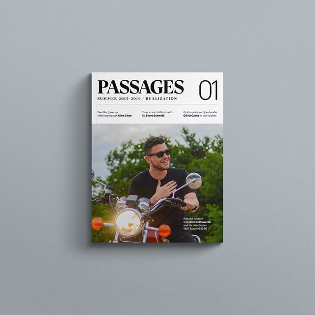 PASSAGES 01 is officially out today; cartwheel as you please! PASSAGES collects stories, essays and interviews about this curious time in self-assessment and intervention. Copies available today at passagesmag.com