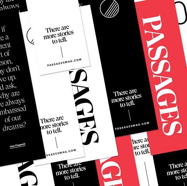 Save more than your page with some new PASSAGES bookmarks and totes. Shop link is in the bio.