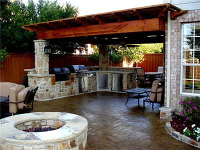 Plan Your Texas Outdoor Kitchen with Patio Design Ideas from ...